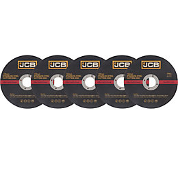 JCB (Dia)125mm Stainless Steel Cutting Disc