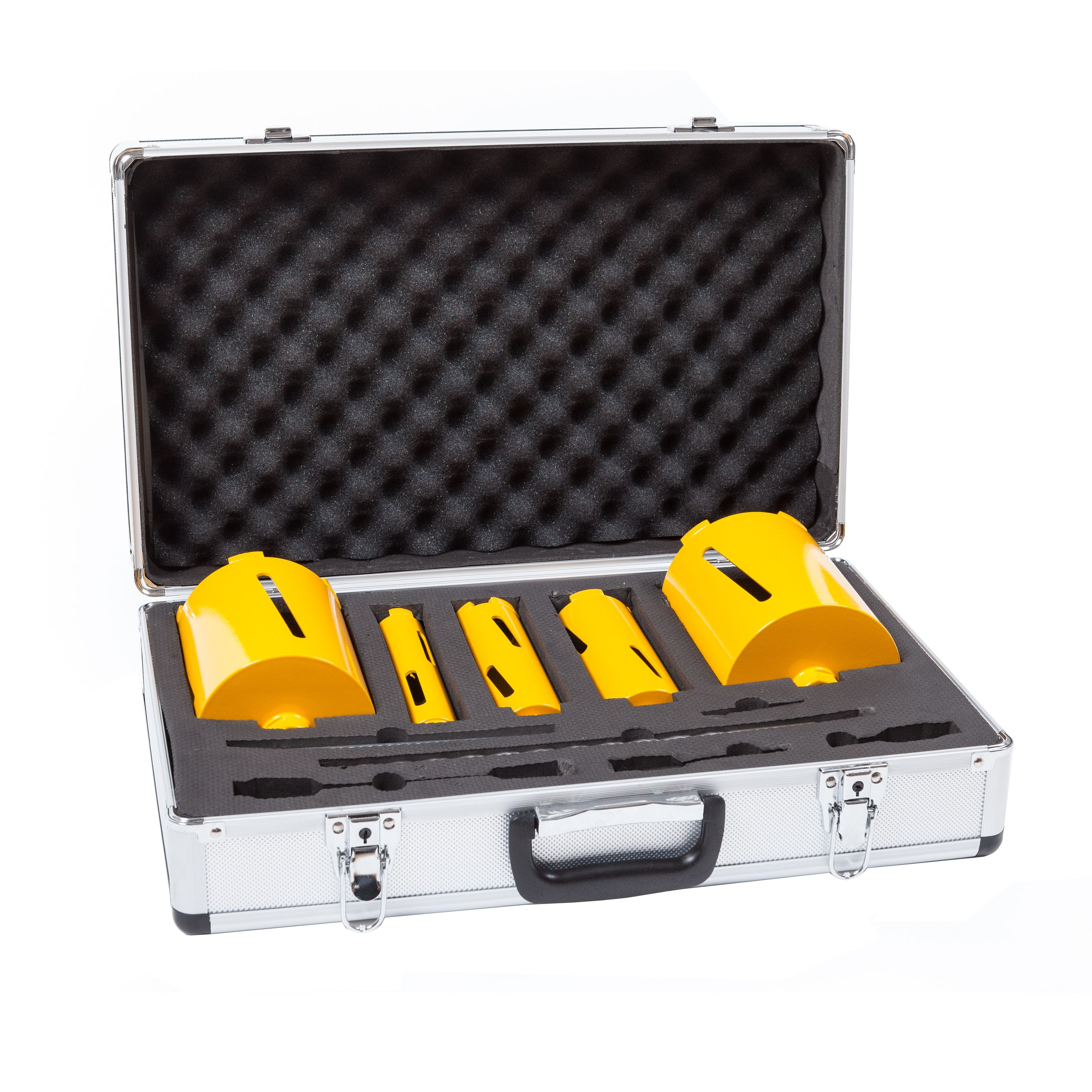 Jcb Core Drill Set, 11 Piece Of 11