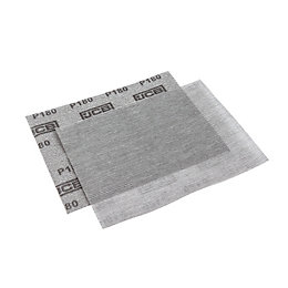 JCB 180 Grit Mesh Sanding Sheet, Pack of