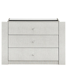 Sophia 3 Drawer Internal Wardrobe Chest (H)650mm (W)970mm