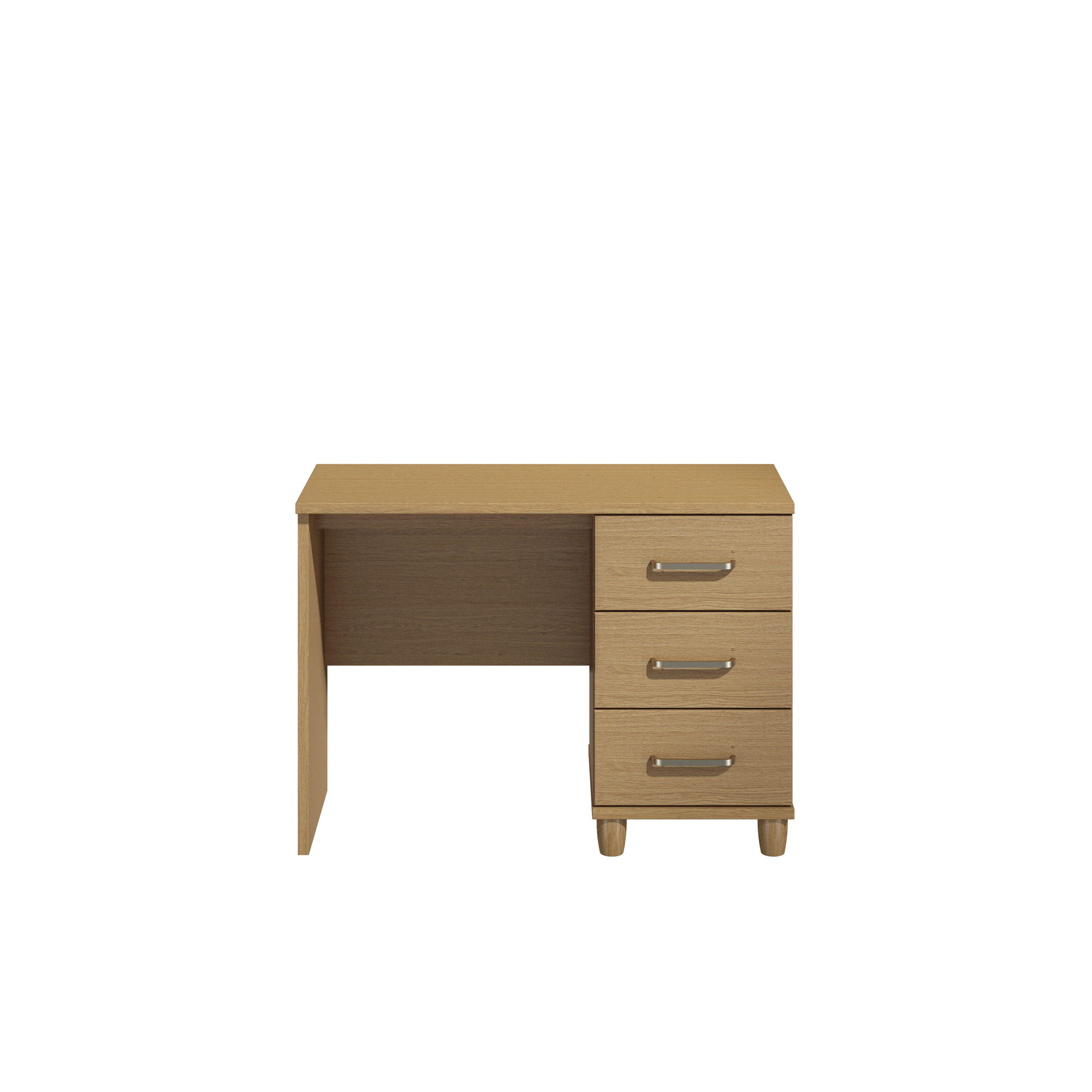 Consort Pandora Oak Effect Dressing Table (h)710mm (w)1200mm (d)420mm