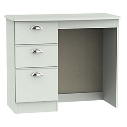 Lugano Grey Dressing Table (H)80 cm (W)93 cm