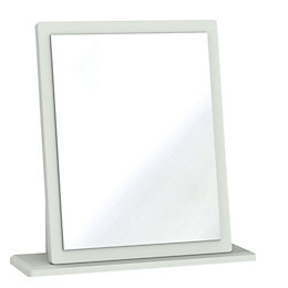 Lugano Grey Mirror (H)510mm (W)480mm