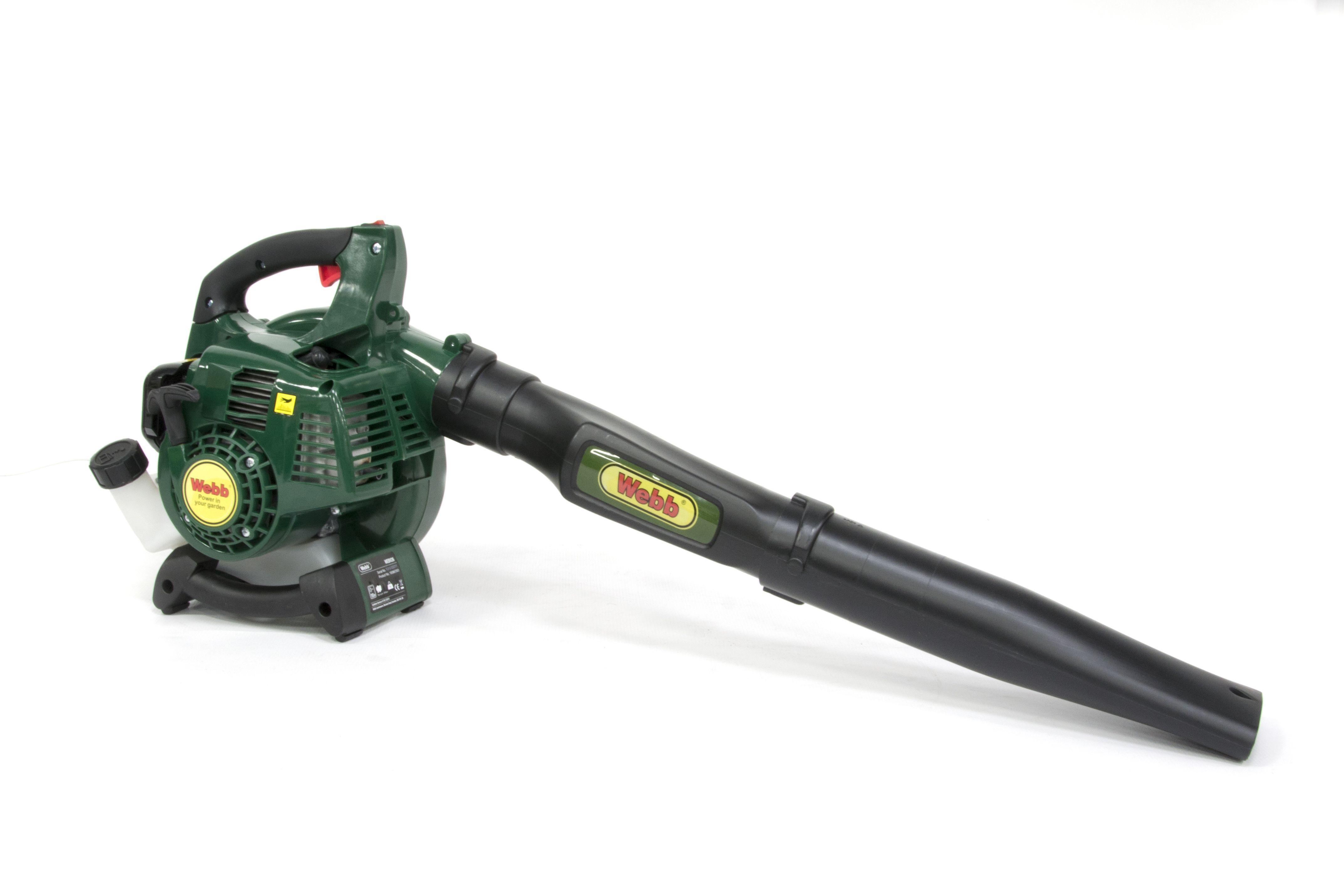 Webb BV26 26 cc Petrol Garden Blower Vacuum Departments DIY