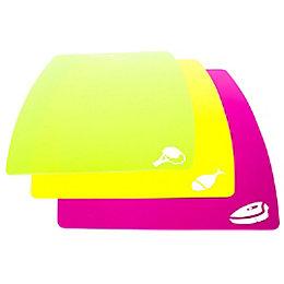 Polypropylene Flexible Cutting Mat, Set of 3