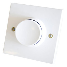 Corelectric 6A 2-Way Single White Push Light Switch