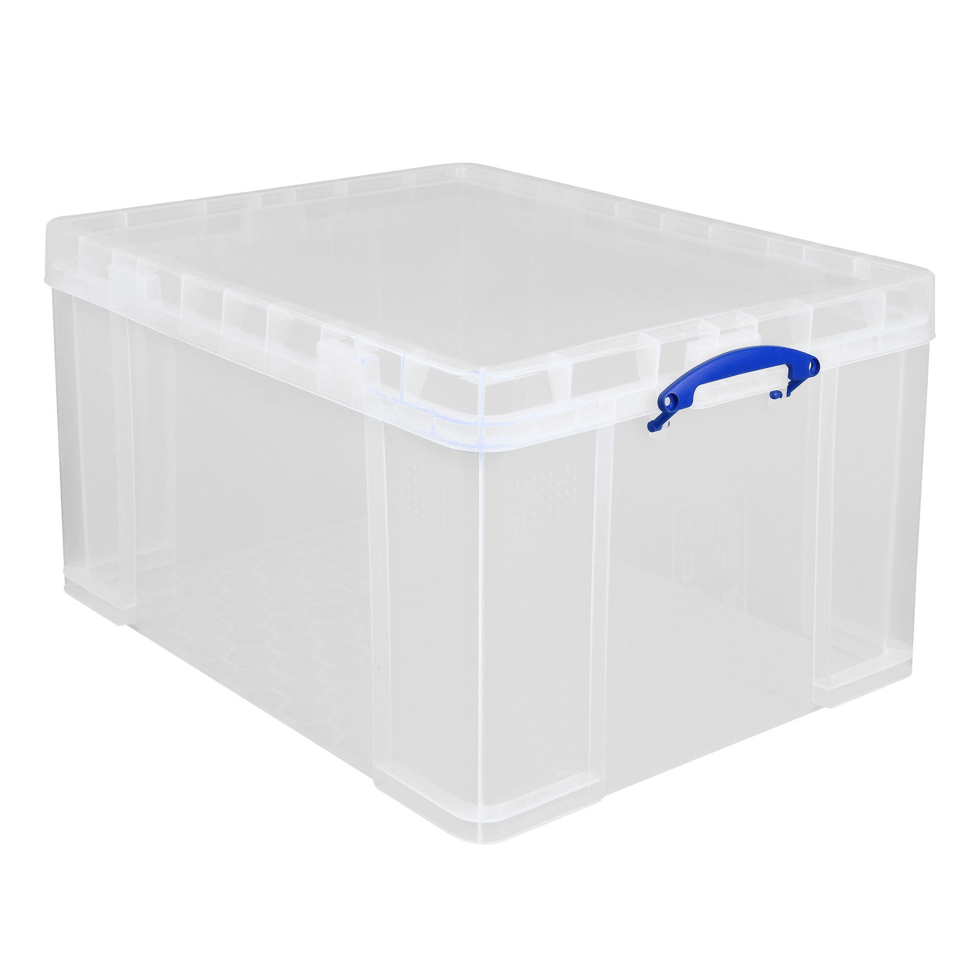 Really Useful Clear 84L Plastic Storage Box Departments DIY at B&ampQ - Blinds For Bedroom