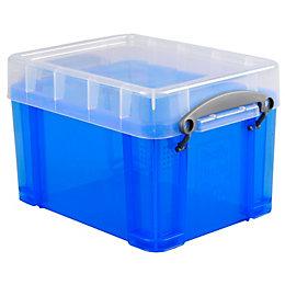 Really Useful Blue 3L Storage Box