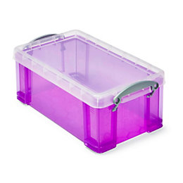 Really Useful Purple 5L Plastic Storage Box