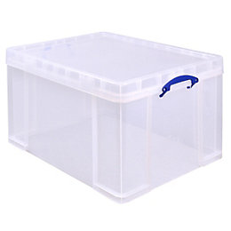 Really Useful Clear 145L Plastic Storage Box