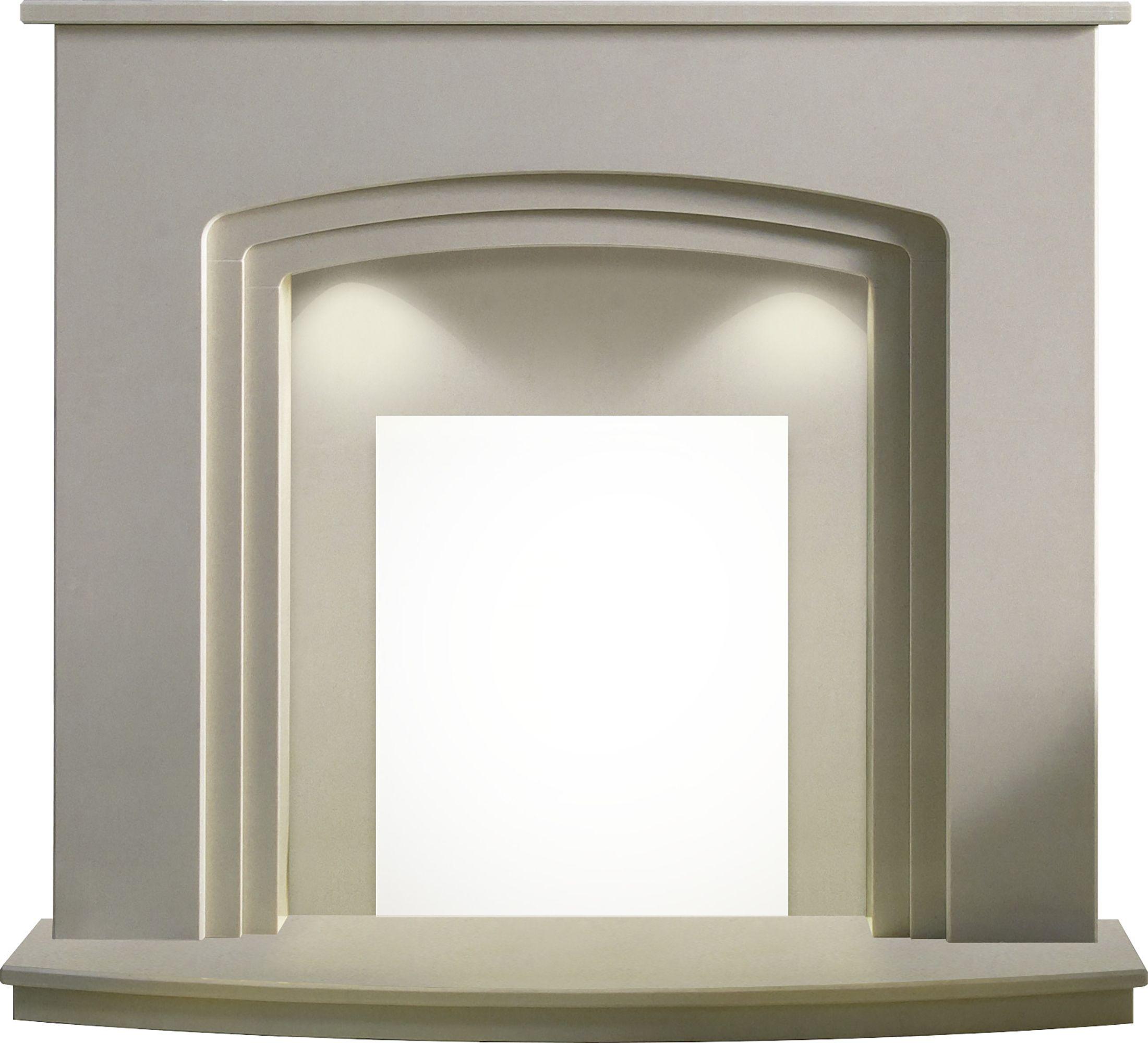 Stone Effect Fireplace Surrounds Part - 35: Bu0026Q