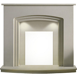 Seville Roman Stone Marble Fire Surround