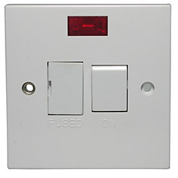 Propower 13A Switched Socket Neon Indicator Connection Unit