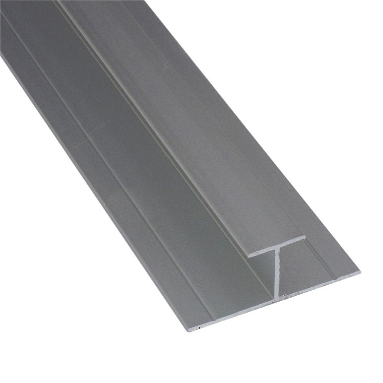 Bathroom Wall Floor Joint : Splashwall grey shower panelling straight h joint l m