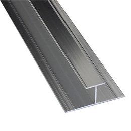 Splashwall Shower Panelling Straight H Joint (L)2.42m