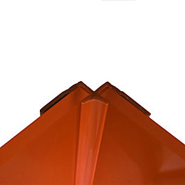 Splashwall Pumpkin Shower Panelling Internal Corner (L)2440mm