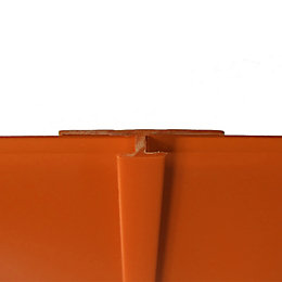 Splashwall Pumpkin Shower Panellling Straight H Joint (L)2440mm