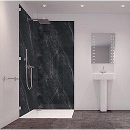 Splashwall Tuscan Black 2 Sided Shower Panelling Kit
