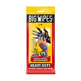 Large Scrub & Clean Wipes, Pack of 20