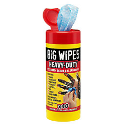 Big Wipes Industrial Wipes, Pack of 40