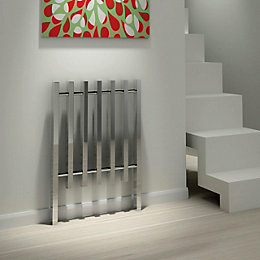 Kudox Kube Vertical Radiator Chrome Polished (H)1200 mm