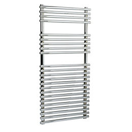 Kudox Silver Towel Warmer (H)700 (W)500 mm