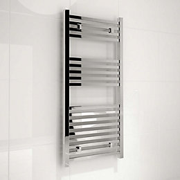 Kudox Sevilla Silver Towel Warmer (H)974 (W)450 mm