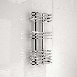 Kudox Cordoba Silver Towel Warmer (H)650 (W)300 mm
