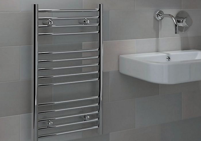 Contemporary towel warmer