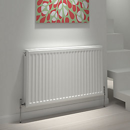 Kudox Type 21 Double Plus Panel Radiator, (H)600mm