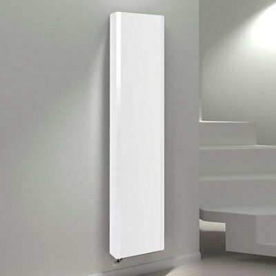 Kudox Vertical Radiator White (h)1800 Mm (w)400 Mm