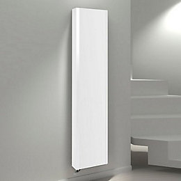 Kudox Vertical Radiator White, (H)1800 mm (W)400 mm