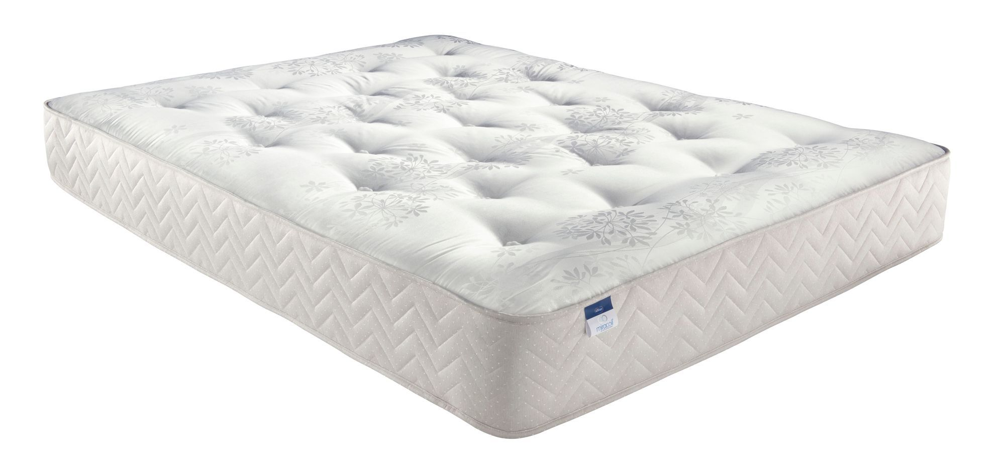 silentnight miracoil double mattress departments diy at b q. Black Bedroom Furniture Sets. Home Design Ideas