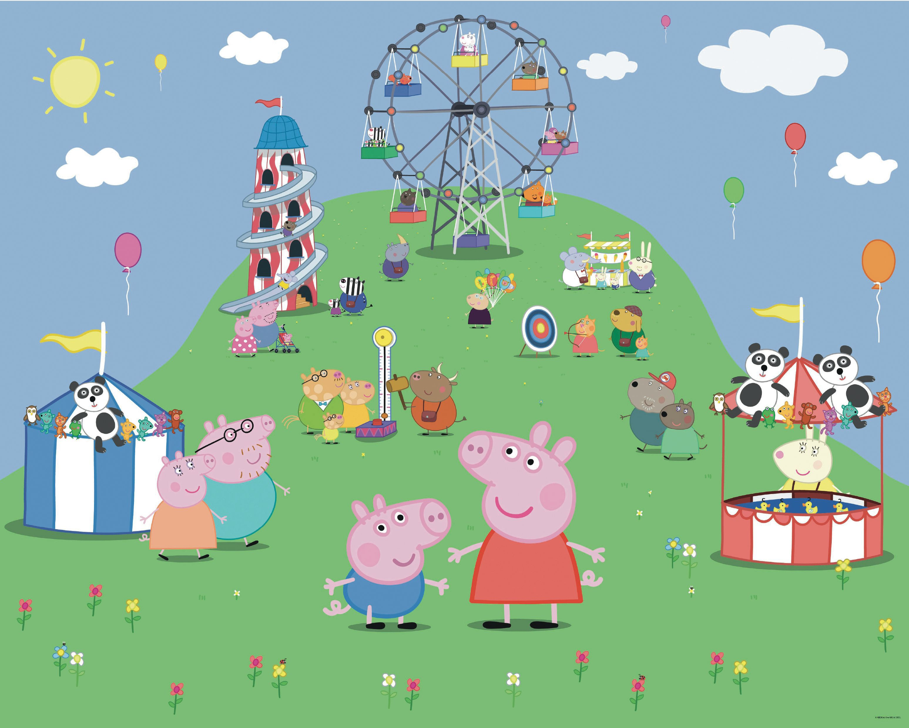 Peppa Pig Wall Mural | Departments | DIY At Bu0026Q. Part 13