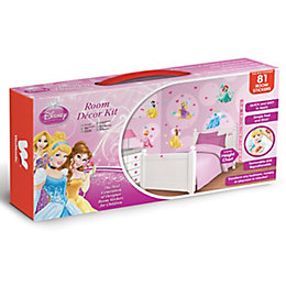 Walltastic Disney Princess Multicolour Self Adhesive Room Décor