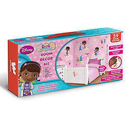 Walltastic Doc Mc Stuffins Multicolour Self Adhesive Room