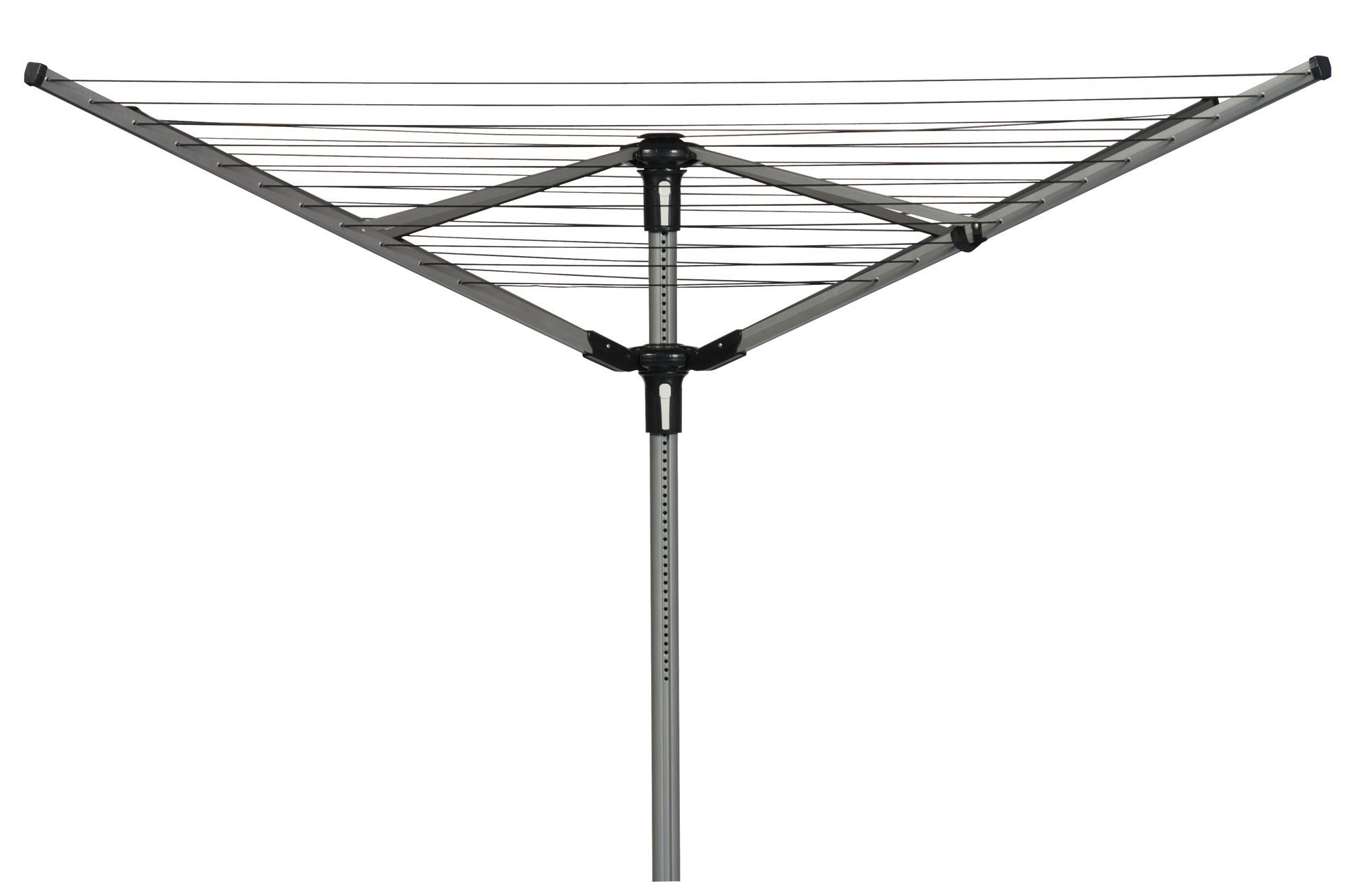 b q 4 arm rotary airer 60m departments diy at b q. Black Bedroom Furniture Sets. Home Design Ideas