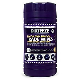 Dirteeze Skin Care Wipes, Pack of 80