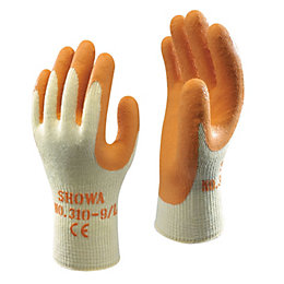 Showa Builders Grip Gloves, Large, Pair