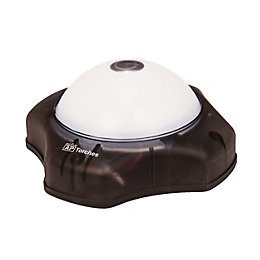 Active 64lm Plastic LED Black Palm Touch Push
