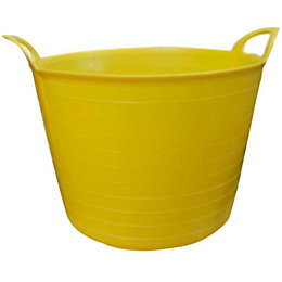 Large Yellow Flexi Tub