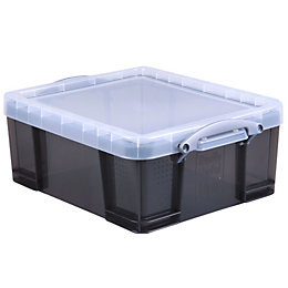 Really Useful Grey 18L Plastic Storage Box