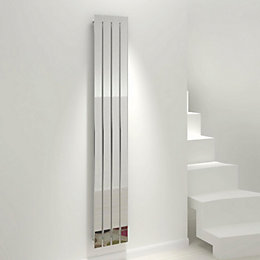 Kudox Tova Vertical Radiator Chrome Polished, (H)1800 mm