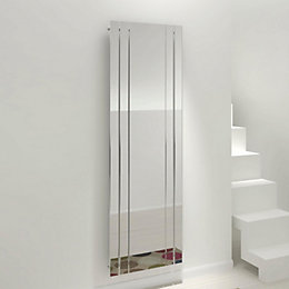 Kudox Tova Mirror Vertical Radiator, (H)1800 mm (W)600