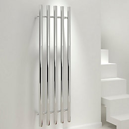 Kudox Seresso Vertical Radiator Chrome Polished, (H)1500 mm