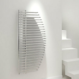 Kudox Spinaker Vertical Radiator Chrome, (H)1300 mm (W)600