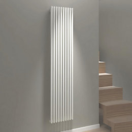 Kudox Xylo Vertical Radiator White, (H)1800 mm (W)380