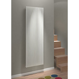 Kudox Xylo Vertical Radiator White, (H)1800 mm (W)580