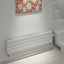 Kudox Tira Horizontal Radiator White (H)292 mm (W)1200