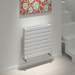 Kudox Tira Horizontal Radiator White, (H)588 mm (W)600